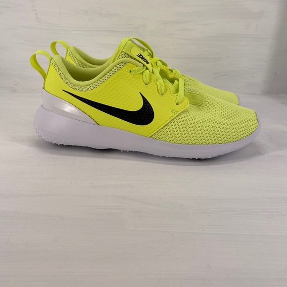 Nike Shoes Roshe G Spikeless Golf Shoe Volt 5y Sz 65w Poshmark
